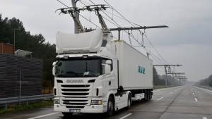Zwischen Frankfurt und Darmstadt rollen bald Oberleitungs-Lkw