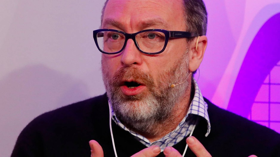 Wikipedia-Gründer Jimmy Wales in Davos