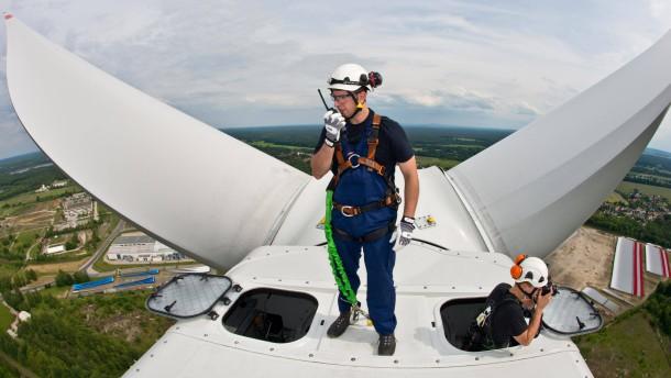 Koalitionspoker setzt Wind-Aktien unter Druck