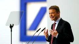600 Stellen sind bei der Deutschen Bank bereits weg