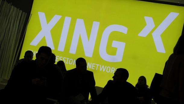 Personalabteilungen suchen mehr Mitarbeiter über Xing