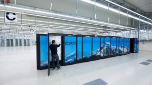 Europas schnellster Computer steht in der Schweiz