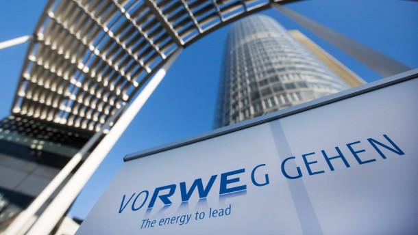 RWE macht Verlust - Aktienkurs fällt stark