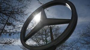 China-Geschäft beschert Daimler Milliardengewinn
