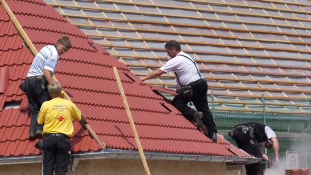 Gute Auftragslage bei Dachdeckern