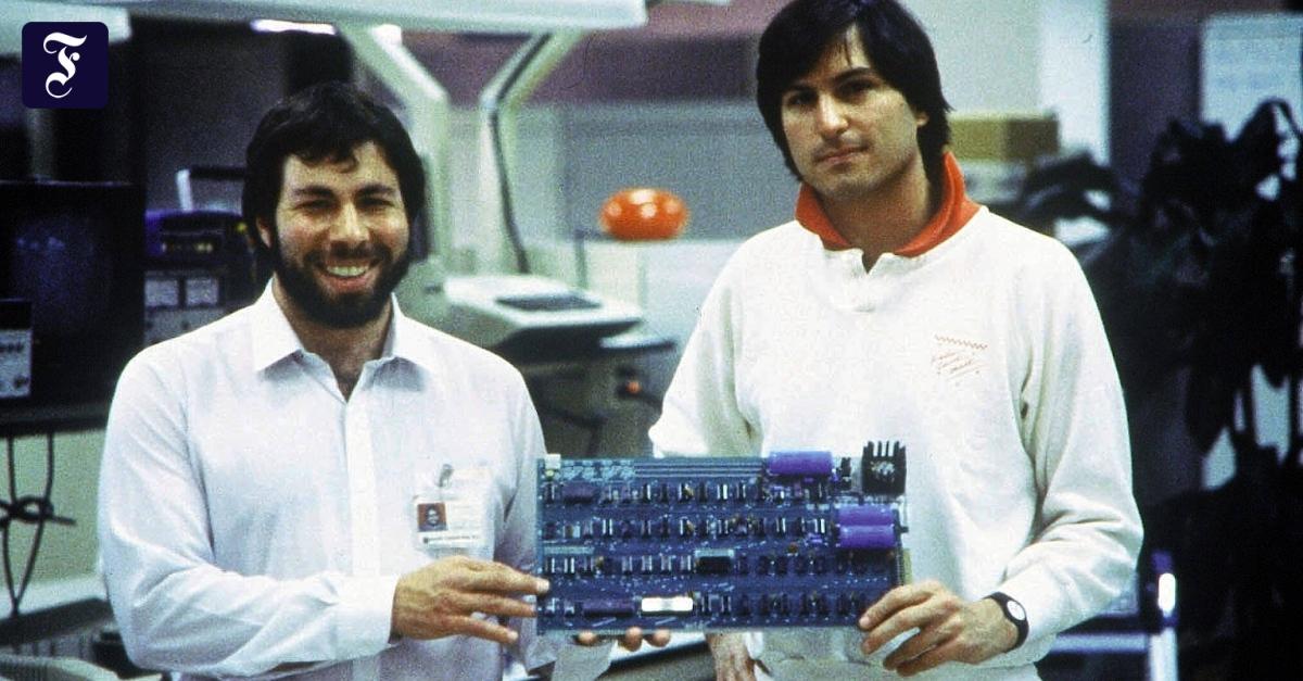 1,5 Millionen Dollar für einen 45 Jahre alten Apple-Computer - FAZ - Frankfurter Allgemeine Zeitung