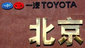 Japans Autobauer verkaufen wieder mehr in China