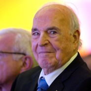 Helmut Kohl in Dresden