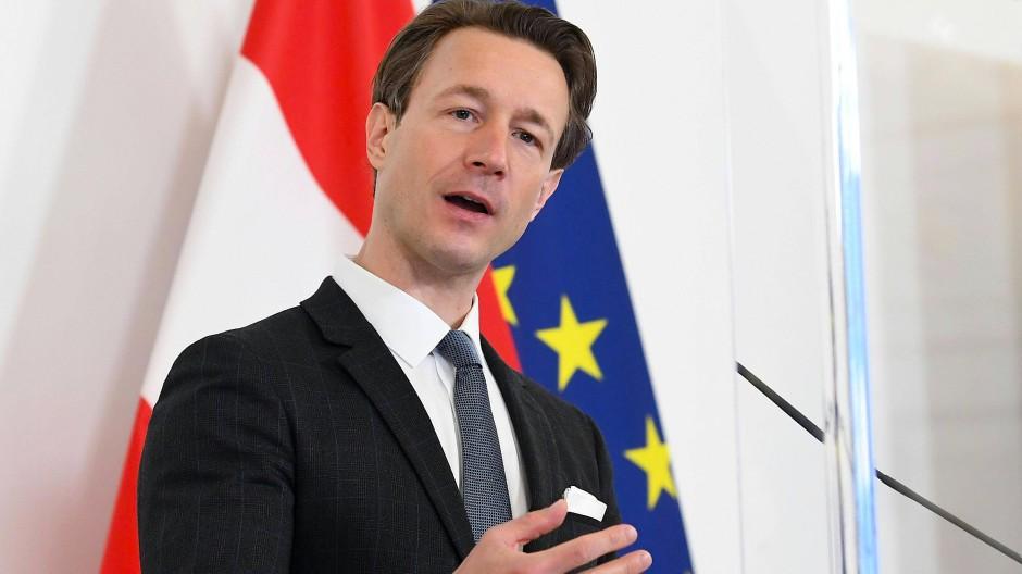 Österreichs Finanzminister Gernot Blümel