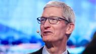 Tim Cook ist seit sechs Jahren der Chef von Apple.