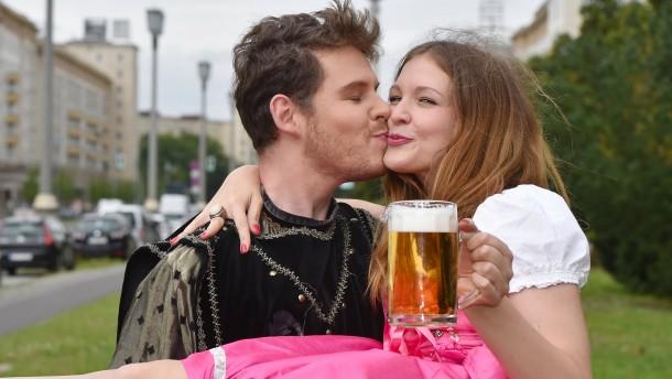 Absatz von Bier