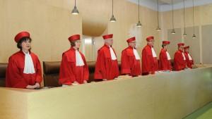 Verfassungsgericht berätüber Gauweilers Eilantrag