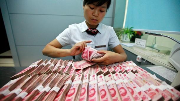 Chinas Banken dürfen Zinsen freier festlegen
