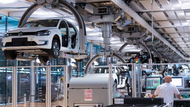 So will Volkswagen zehn Millionen E-Autos produzieren