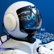 Das interessiert auch die Kanzlerin: Angela Merkel besuchte im Mai 2019 die Munich School of Robotics and Machine Intelligence.
