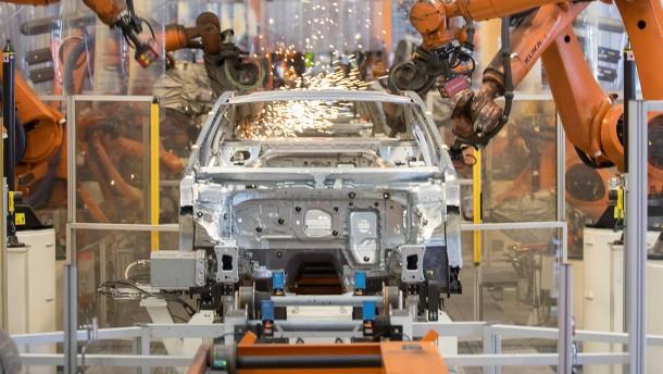 Historischer Wirtschaftseinbruch in Deutschland