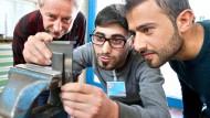 Handwerksausbildung für Flüchtlinge: Vorbereitende Praktika sollen den Weg ebnen.