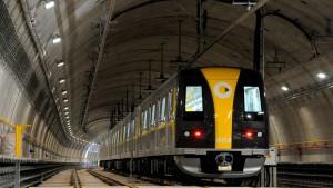 Unbemannte Zugfahrt, frei von Streiks