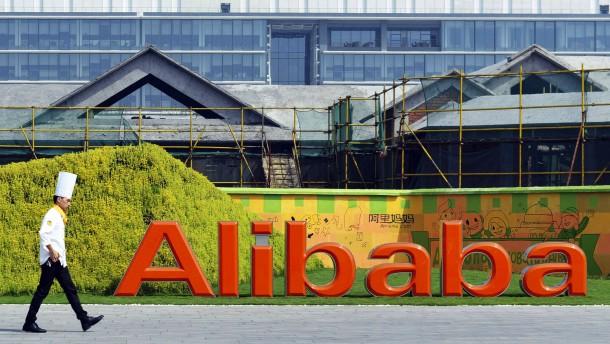 Wem gehört Alibaba bisher?