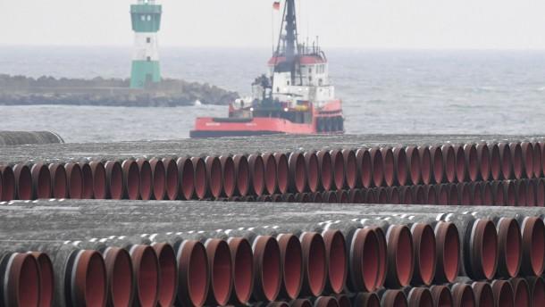 Maas: Werden im Streit um Nord Stream 2 nicht einlenken