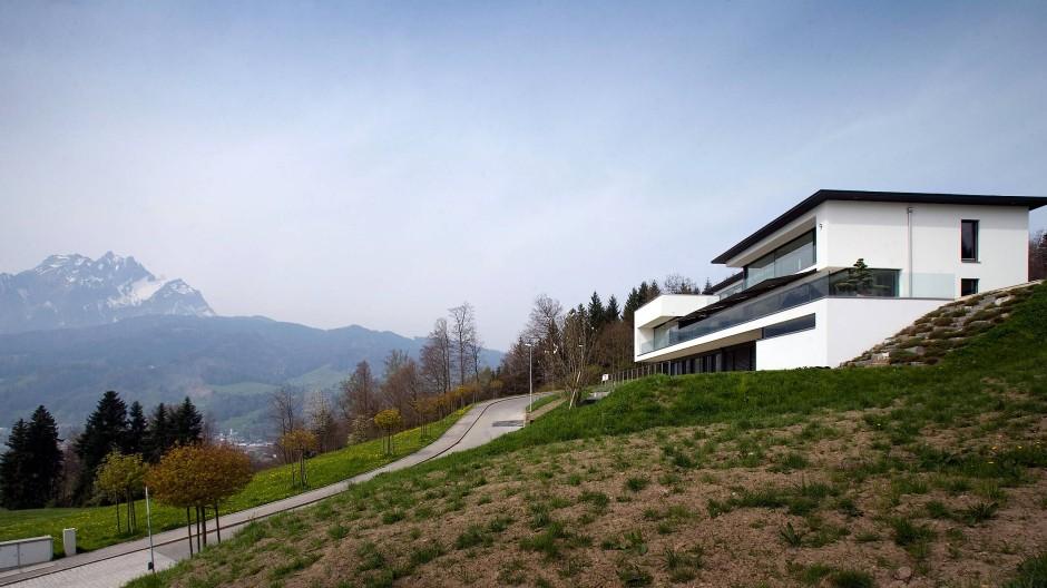 Bitte nicht drum streiten: Immobilie mit Alpenblick