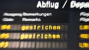 Bei Eurowings bleiben viele Flieger am Boden