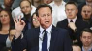 """""""Es gibt keine Offshore-Trusts/Fonds, von denen der Premierminister, Frau Cameron oder ihre Kinder in Zukunft profitieren werden"""", heißt es in der aktuellen Erklärung des britischen Regierungschefs."""