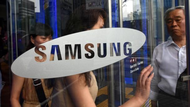 Samsung mit deutlichem Gewinnrückgang