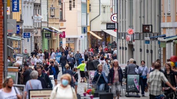 Deutsche Wirtschaft dank Lockerungen im Aufwind