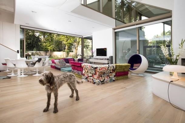bilderstrecke zu neue h user villa in berlin grunewald bild 3 von 7 faz. Black Bedroom Furniture Sets. Home Design Ideas