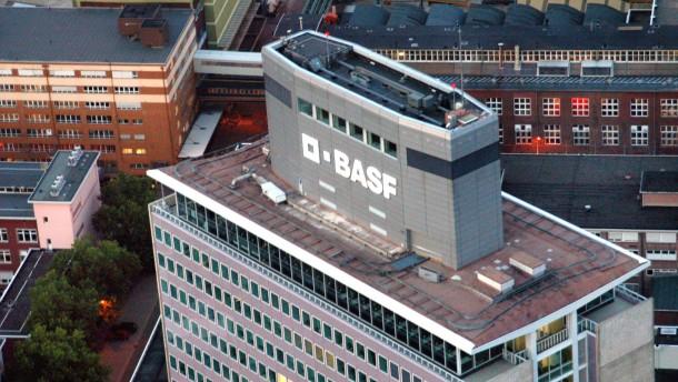 BASF räumt seine  Hauptverwaltung