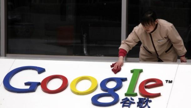 """China: Googles Entscheidung wird """"politisiert"""""""