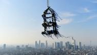 Vor allem in Großstädten wie Frankfurt wie viel und teuer gebaut.