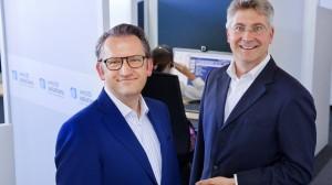 Frank Jorga (l.) und Franz Thomas Fürst: Ihre Idee hat Erfolg, die Post wollte sie schon aufkaufen.