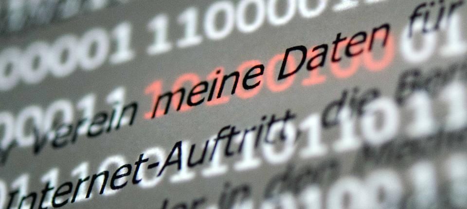 """Sollte in jeder Datenschutzerklärung rot aufleuchten: Der Passus """"meine Daten""""."""