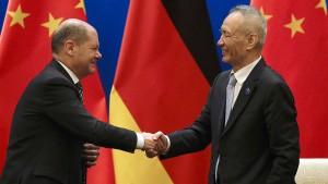 China und Deutschland im Schulterschluss