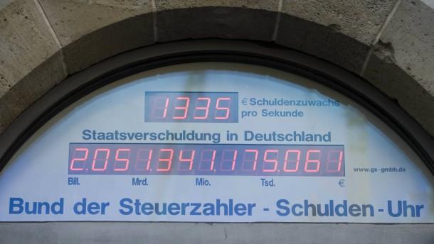 Deutsche Schuldenuhr Live