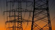 Der kalte französische Winter macht auch dem deutschen Stromnetz zu schaffen.