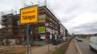 Tübingens Bürgermeister Palmer hat seine Bebauungspläne schon bekannt gemacht.