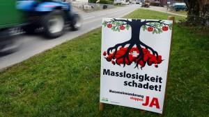 Schweiz schreckt vor Einwanderungsquoten zurück