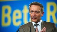 Christian Lindner, FDP-Bundesvorsitzender, kritisiert die Doppelmoral der Bundesregierung.