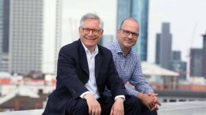 Innovativ: Maximilian von Haller (links) und Andreas Günkel