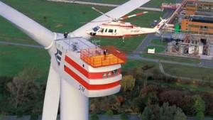 Weltgrößtes Windrad geht in Betrieb