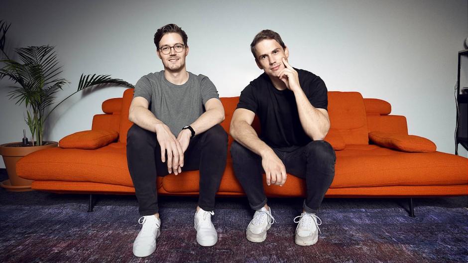Die Gründer des digitalen Sachversicherers Getsafe aus Heidelberg: