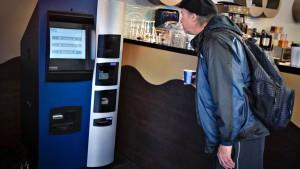 Weltweit erster Bitcoin-Geldautomat eingeweiht