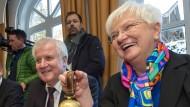 CSU-Chef Horst Seehofer und Landesgruppenchefin Gerad Hasselfeldt während der Klausurtagung im vergangenen Frühjahr.