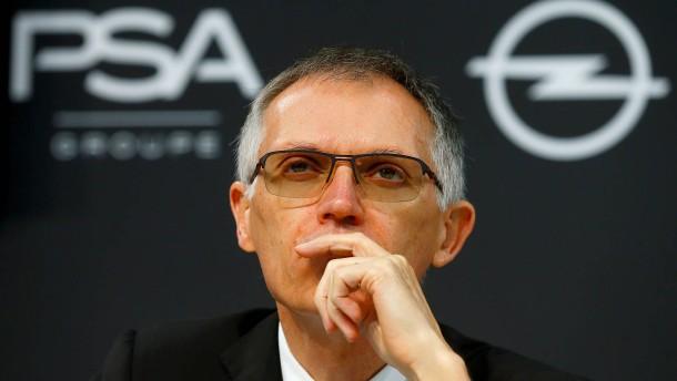 PSA-Chef will Zukunftspläne für Opel vorlegen