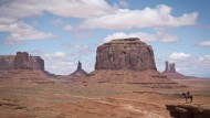 Das Monument Valley, Gebiet der Navajo-Indianer