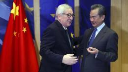 Die EU schlägt neue Töne gegenüber China an