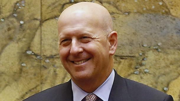 Skandal kostet Goldman-Chef 10 Millionen Dollar Gehalt